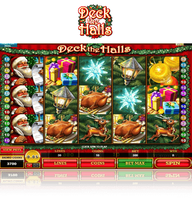 Microgaming Deck the Halls Spiel