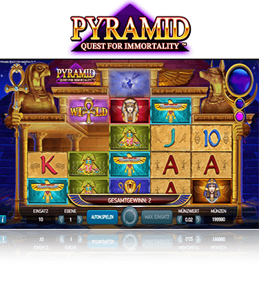 Pyramid Quest for Immortality Spiel