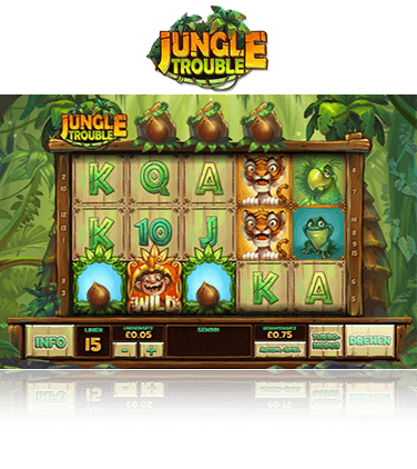 Jungle Troble Spiel