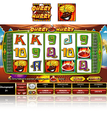 Microgaming Curry in a Hurry Spiel