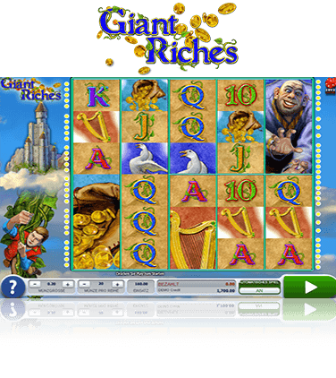 Microgaming Giant Riches Spiel