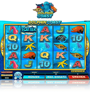 Microgaming Dolphin Coast Spiel