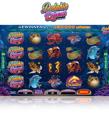 Microgaming Dolphin Quest Spiel