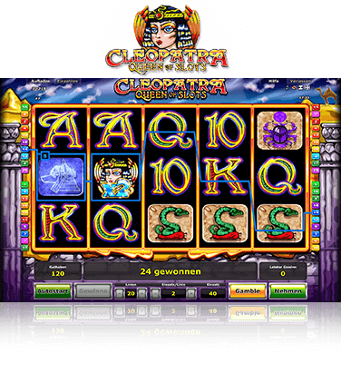Cleopatra Queen of Slots Spiel