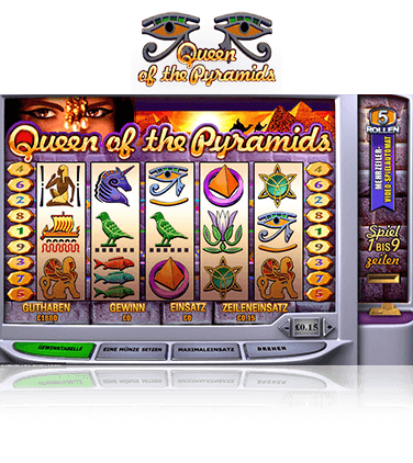 Queen of the Pyramids Spiel