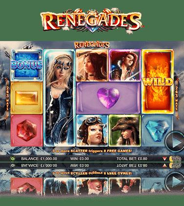 Spiele Renegades - Video Slots Online