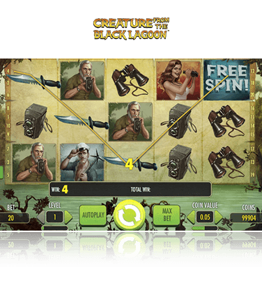 Creature from the Black Lagoon gratis spielen