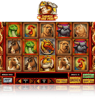 Der Chinese New Year Slot von Play'n GO.