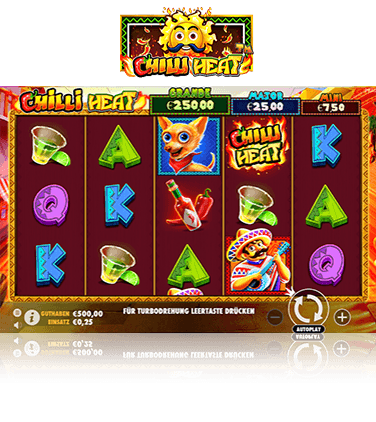 Spiele Chilli Heat - Video Slots Online