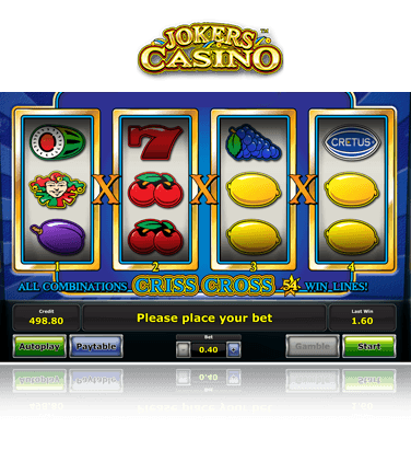 Jokers Casino Gratisspiel