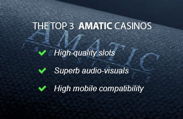 3 Key Features of the Best UK Amatic Casinos