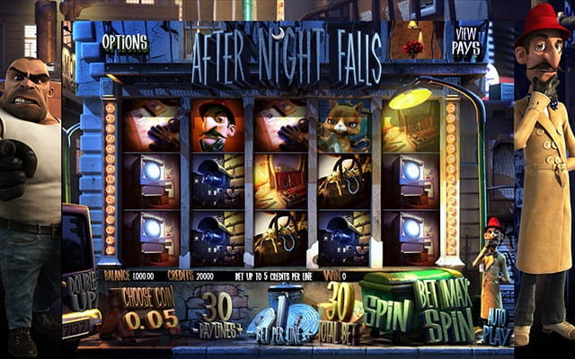 A preview of the slot game After Night Falls.