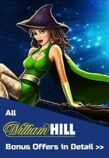 All Available Bonuses for New Players at William Hill
