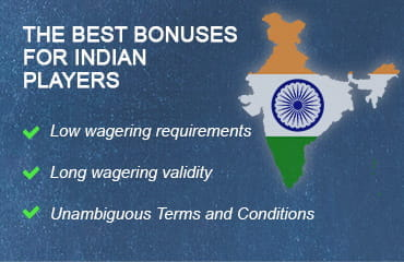 Best Bonuses at Indian Casinos