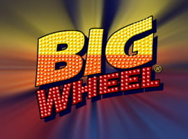 The Big Wheel slot game logo.