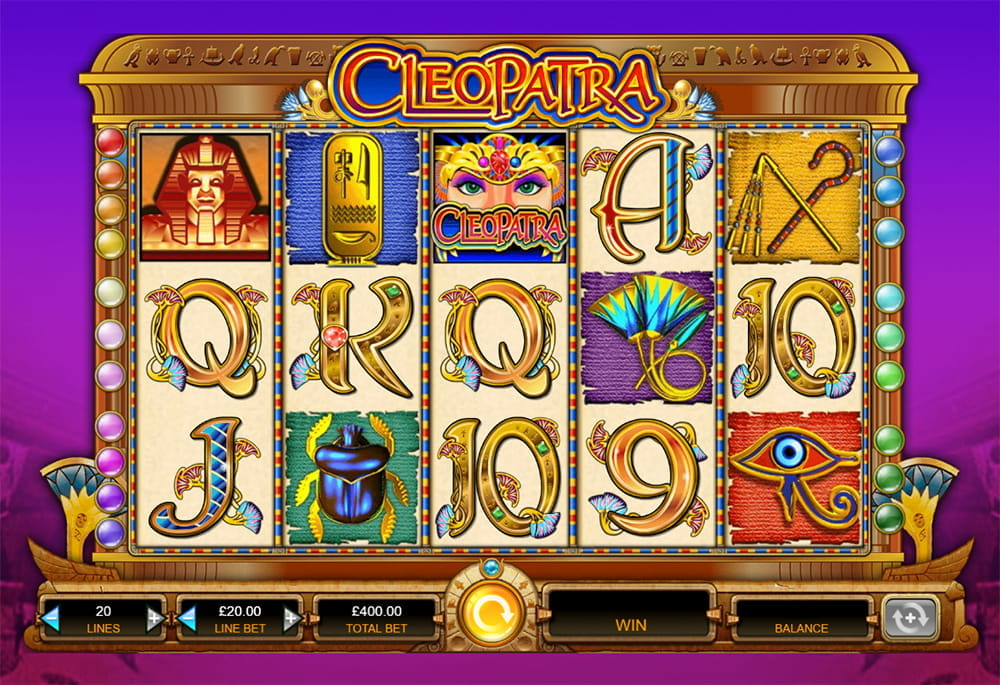 Free cleopatra slot machine play this igt slot game online