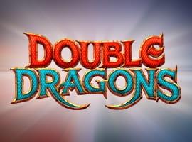 The Double Dragons game logo.