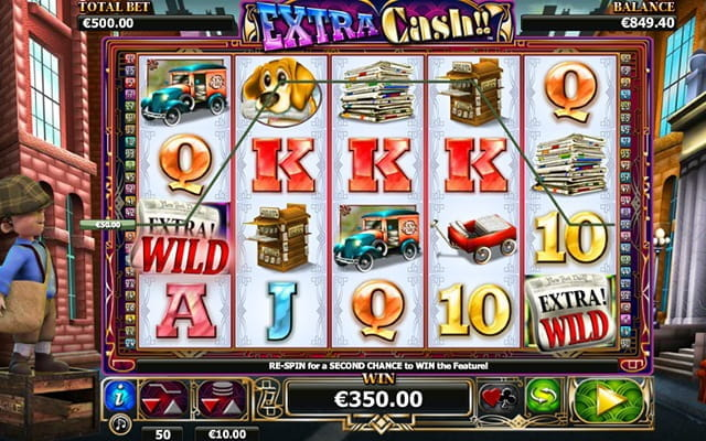 Extra Cash online slot game