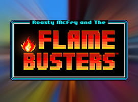 The Flame Busters game logo.
