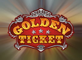 The Golden Ticket slot game logo and free demo.