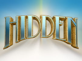 The Hidden slot game logo.