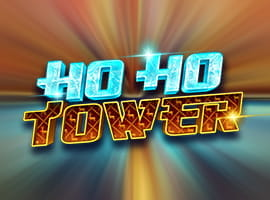The Ho Ho Tower slot game logo.