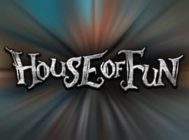 The House of Fun slot game logo.