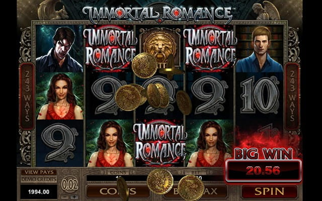 A seductive slot based on vampires and romance