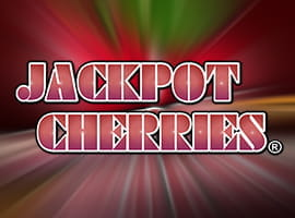 The Jackpot Cherries slot game logo.