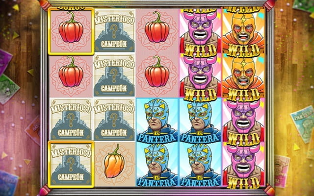 The Luchadora slot game.