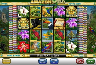 The Mobile Version of the Amazon Wild Slot