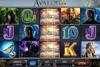Avalon II can be Played on the Betway Mobile App