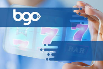 The QR code for the BGO mobile casino app
