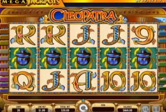 The Cleopatra slot for mobile devices