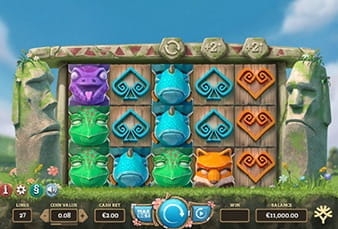 The Easter Island mobile slot