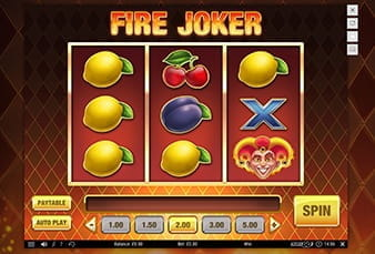 The Fire Joker mobile slot