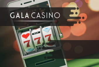 QR Code for the Gala Casino Mobile App