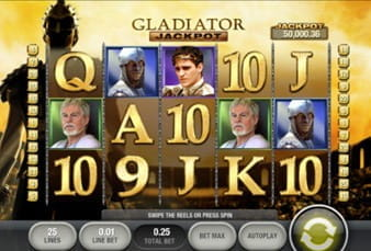 Gladiator Jackpot Slot on William Hill Mobile
