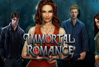 Logo of the mobile slot Immortal Romance at bwin casino