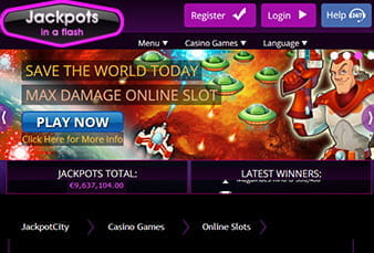 Jackpot City Casino Mobile Platform