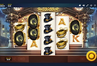 The mobile slot Masquerade