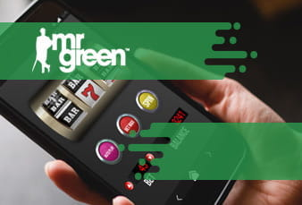 The QR Code for Mr Green Mobile Casino