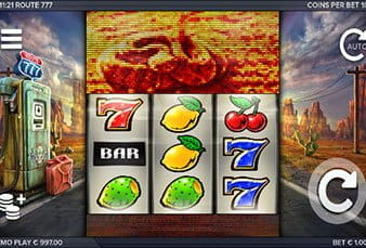 The Route 777 slot at PartyCasino.
