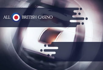 A mobile slot from the All British Casino with a QR code on top