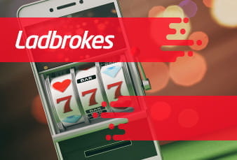 The QR Code for the Ladbrokes Casino App