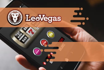 QR Code for LeoVegas Mobile Casino App