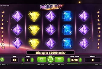 The mobile slot from Starburst