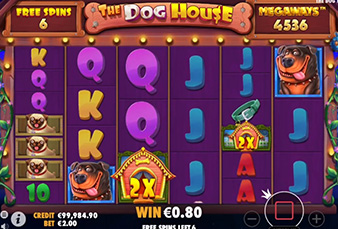 The Dog House Megaways on Jackpot Mobile