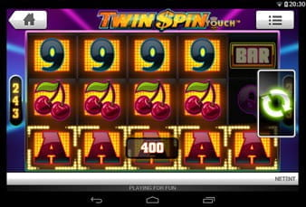 Twin Spin Slot for Mobile Play
