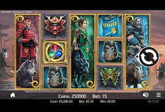 The mobile slot Warlords